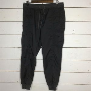 New Eddie Bauer Jogger Pant Gray Cotton Stretch